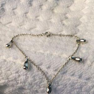 Tiffany (RARE) Elsa Peretti 925 Teardrop Bracelet